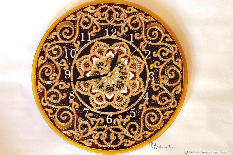 """Настенные часы """"Шоколад"""", Часы, Москва, Фото №1"""