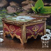 Для дома и интерьера handmade. Livemaster - original item Small jewelry box