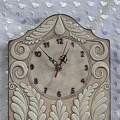 Для дома и интерьера ручной работы. Ярмарка Мастеров - ручная работа Часы настенные Трапунто. Handmade.