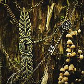 """Украшения ручной работы. Ярмарка Мастеров - ручная работа Колье """"Верный ключ"""" (""""Proper Key""""). Handmade."""
