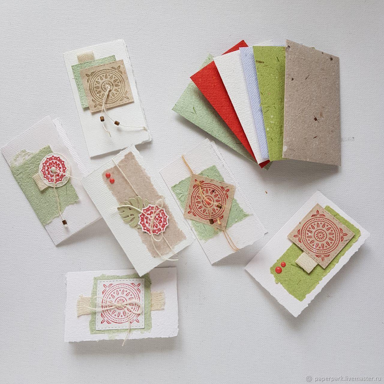 Открытки, открытка с мини конвертами