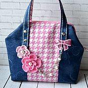 Работы для детей, handmade. Livemaster - original item Handbag for girls in the style of Chanel. Handmade.