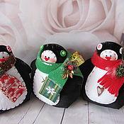 Куклы и игрушки ручной работы. Ярмарка Мастеров - ручная работа Пингвин (тильда). Handmade.