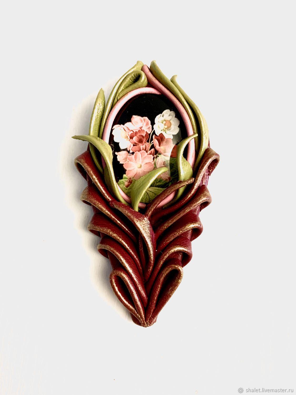 Brooch-pin: HOLIDAY Feather, Brooches, Kaluga,  Фото №1