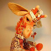 Куклы и игрушки ручной работы. Ярмарка Мастеров - ручная работа Авторская игрушка - жираф Спотти. Handmade.