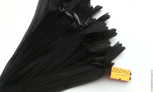 Шитье ручной работы. Ярмарка Мастеров - ручная работа. Купить Потайные молнии 18 см. (цвета внутри). Handmade. Комбинированный