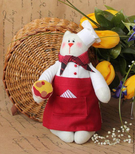 Куклы Тильды ручной работы. Ярмарка Мастеров - ручная работа. Купить Сеньор Котэ. Handmade. Ярко-красный, текстильная игрушка
