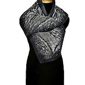 """Аксессуары ручной работы. Ярмарка Мастеров - ручная работа Демисезонный  шарф для мужчины """"Нефтяник"""". Handmade."""