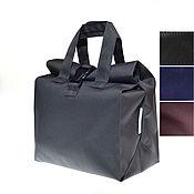Сумки и аксессуары handmade. Livemaster - original item Food bag, Size M, Grey Black Blue Brown. Handmade.