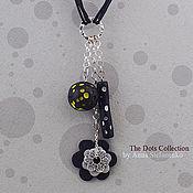 """Украшения ручной работы. Ярмарка Мастеров - ручная работа Подвеска """"Moonlight"""" из колекции """"Dots"""". Handmade."""