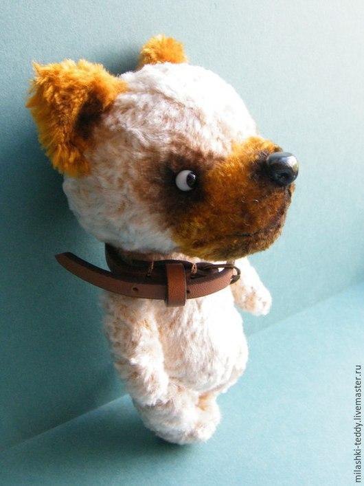 Мишки Тедди ручной работы. Ярмарка Мастеров - ручная работа. Купить Любимый пес Лука. Handmade. Бежевый, пес, боксер