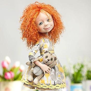 """Куклы и игрушки ручной работы. Ярмарка Мастеров - ручная работа По мотивам """"Любимая игрушка"""". Handmade."""