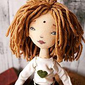 Куклы и игрушки handmade. Livemaster - original item Alice dolls, author`s handmade textile interior doll. Handmade.