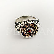 Украшения handmade. Livemaster - original item ring: Silver ring the power of the Vikings. Handmade.
