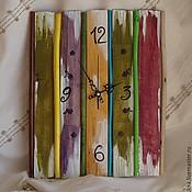 """Часы классические ручной работы. Ярмарка Мастеров - ручная работа Настенные часы """"Лето"""". Handmade."""