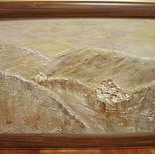 Картины и панно ручной работы. Ярмарка Мастеров - ручная работа Далеко в горах. Handmade.