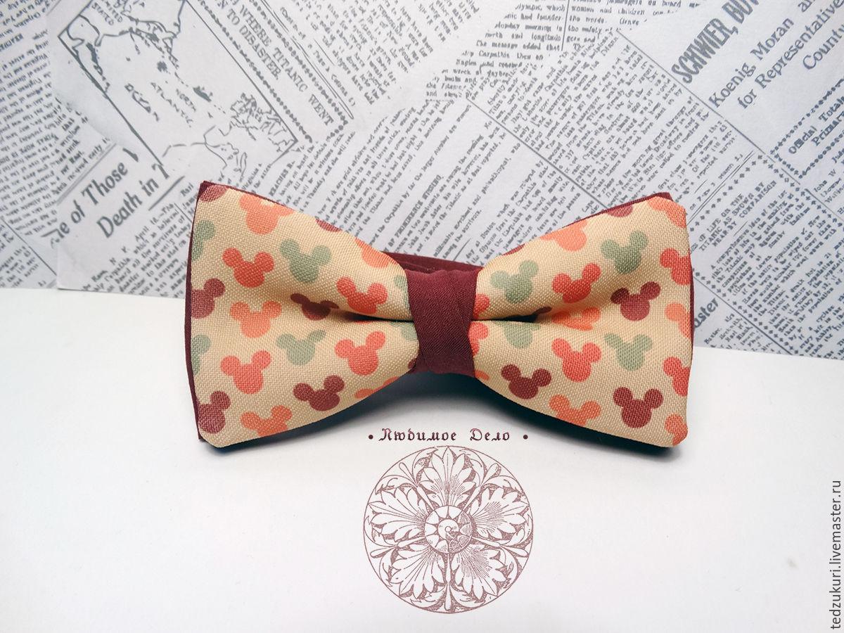 77f0f7228ed8 Ties & Bow Ties handmade. Livemaster - handmade. Buy Bow tie Minnie mouse/  ...
