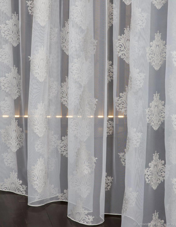 Дизайнерский тюль Dinastia, Текстиль ковры, Москва, Фото №1