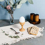 Сувениры и подарки handmade. Livemaster - original item Wooden stand for eggs (an egg-Cup) Siberian pine #ES5. Handmade.