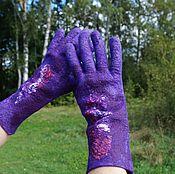 Аксессуары ручной работы. Ярмарка Мастеров - ручная работа Валяные перчатки 2. Handmade.