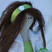 Куклы и игрушки ручной работы. Ярмарка Мастеров - ручная работа Девочка-весна Лея. Handmade.