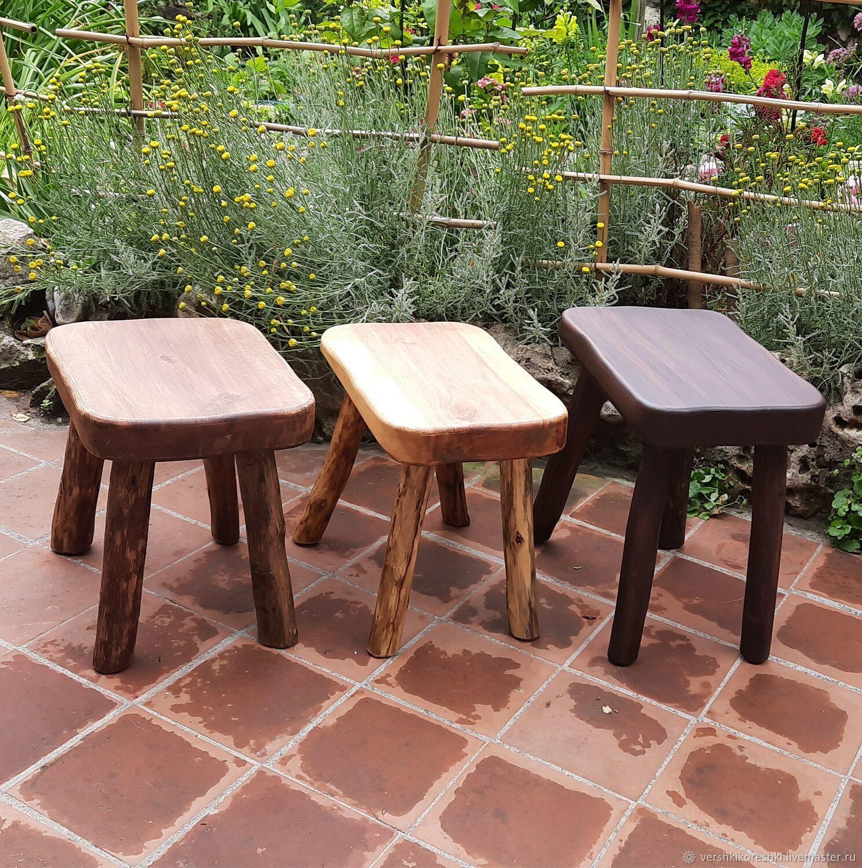 Stool, wooden stool, Stools, Chernomorskoe,  Фото №1