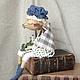 Ароматизированные куклы ручной работы. Эльза - подружка Кристиана. Дана Свистунова. Интернет-магазин Ярмарка Мастеров. Ароматизированная кукла, хлопок