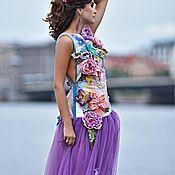 """Одежда ручной работы. Ярмарка Мастеров - ручная работа Платье """"Феникс""""MultiArt. Handmade."""