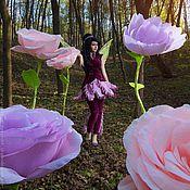 Свадебный салон ручной работы. Ярмарка Мастеров - ручная работа Цветы бумажные большие стоящие на полу. Handmade.