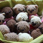 """Куклы и игрушки ручной работы. Ярмарка Мастеров - ручная работа Маленькие медвежата """"Три шоколада"""". Handmade."""