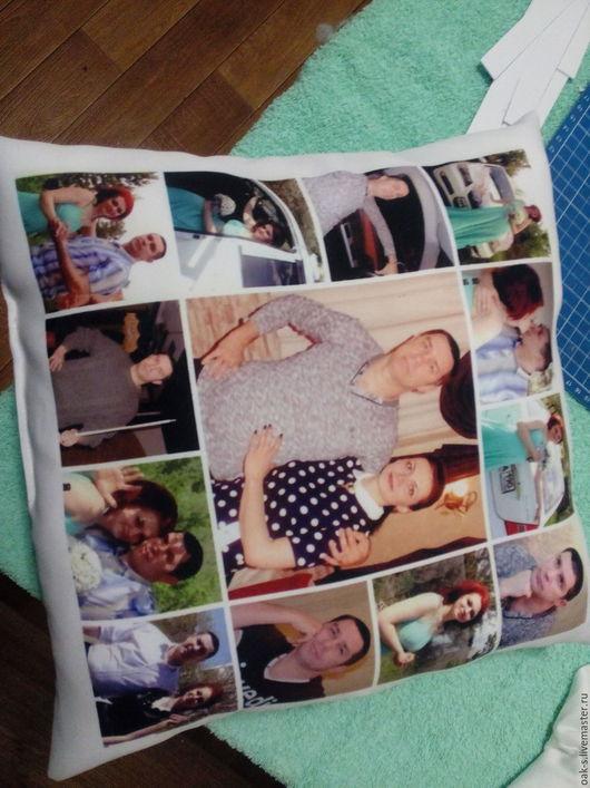 Фотографии на подушке