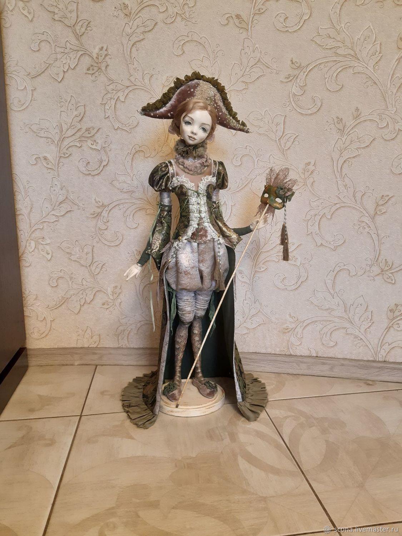 авторская кукла Колумбина, Кукольный театр, Пенза,  Фото №1