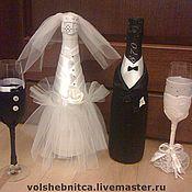 Свадебный салон ручной работы. Ярмарка Мастеров - ручная работа Свадебный набор для молодоженов. Handmade.