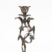Для дома и интерьера ручной работы. Ярмарка Мастеров - ручная работа Подсвечник бронзовый. Handmade.