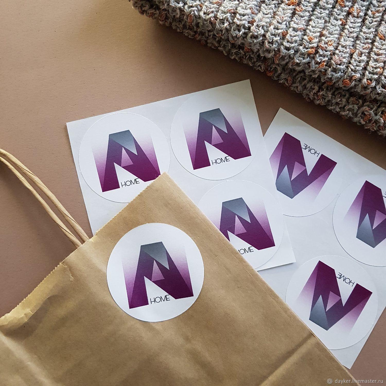 Наклейки с вашим логотипом, Наклейки, Энгельс,  Фото №1