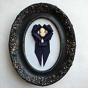 Украшения ручной работы. Ярмарка Мастеров - ручная работа Брошь-орден с галстучком с камеей. Handmade.