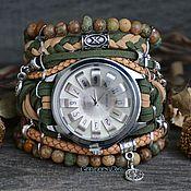 Украшения handmade. Livemaster - original item Women`s wrist watches with stones