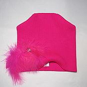 Аксессуары handmade. Livemaster - original item Hats knit Easy feather. Handmade.