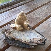 handmade. Livemaster - original item Statue Of A Prospector. Handmade.