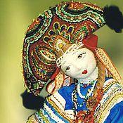 """Куклы и игрушки ручной работы. Ярмарка Мастеров - ручная работа Авторская кукла """"Модница"""". Handmade."""