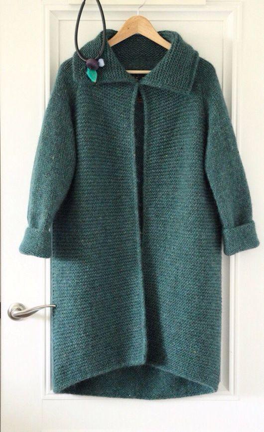 Верхняя одежда ручной работы. Ярмарка Мастеров - ручная работа. Купить Пальто The Elf Legend. Handmade. Кардиган вязаный