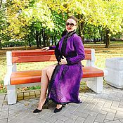 Afghan Coats handmade. Livemaster - original item Women`s coat!Coat velour! Coat designer. Handmade.