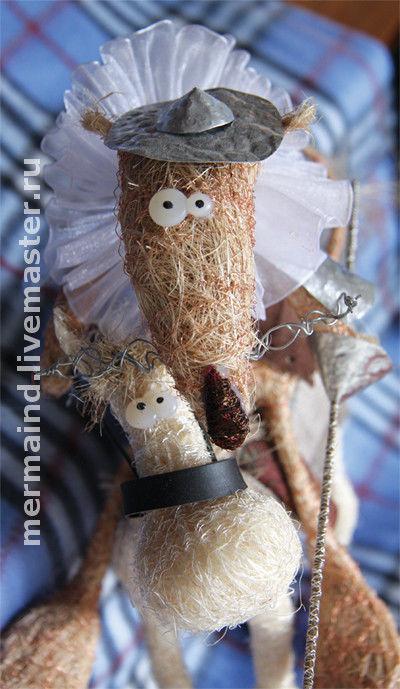 Коллекционные куклы ручной работы. Ярмарка Мастеров - ручная работа. Купить Дон Кихот. Сизаль. Handmade. Дон кихот, аксессуар