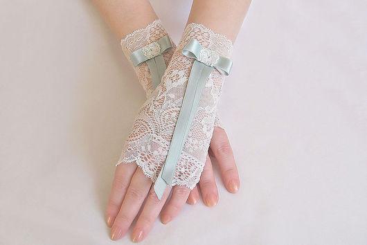 Митенки кружевные Для невесты