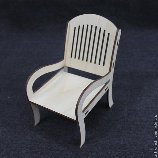 Декупаж и роспись ручной работы. Ярмарка Мастеров - ручная работа. Купить Арт. 15710 Кукольное кресло. Handmade. Кресло, куклы