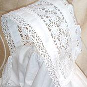 Крестильные рубашки ручной работы. Ярмарка Мастеров - ручная работа Чепчик крестильный. Handmade.