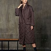 Одежда handmade. Livemaster - original item Coat insulated with buttons with pockets. Handmade.