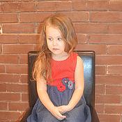 Работы для детей, ручной работы. Ярмарка Мастеров - ручная работа Летнее платье на девочку. Handmade.