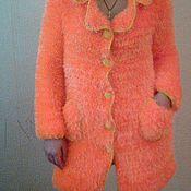"""Одежда ручной работы. Ярмарка Мастеров - ручная работа Пальто """"Оранжевое настроение"""". Handmade."""