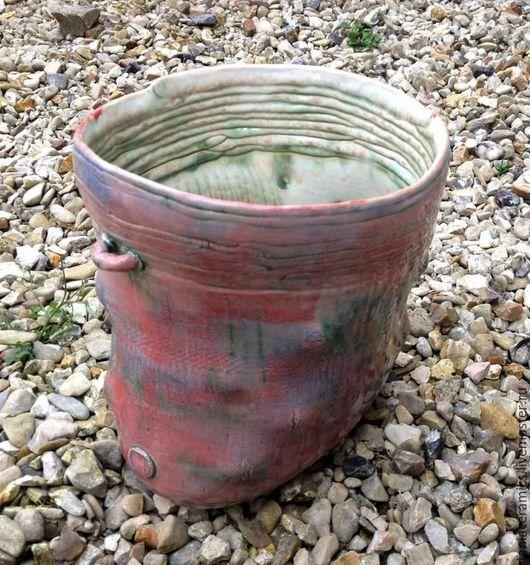 Вазы ручной работы. Ярмарка Мастеров - ручная работа. Купить Розовая ваза.. Handmade. Декоративная ваза, керамика для интерьера